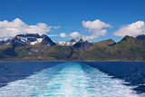 Sailing on Lofoten