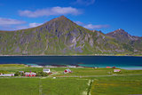 Scenic Lofoten islands