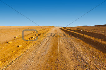Road in Desert