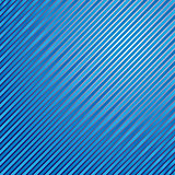 Striped linear blue background