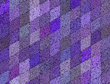 3d mosaic abstract purple backdrop