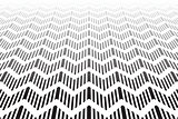 Textured zigzag surface. Abstract geometric background.