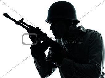 army soldier man portrait