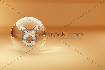 Tourus. Astrological symbol.