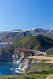 The Bixby Bridge in Vertical