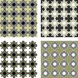 Design seamless pattern set
