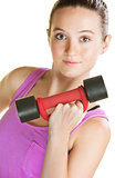Lady with Dumbbell