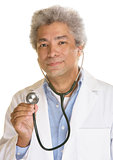 Smiling Doctor with Stethescope