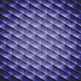 Dark blue geometric cubic background,