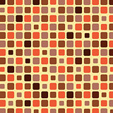 Orange shade tile mosaic background