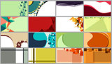 Backgrounds for business cards, 16