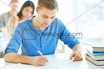 Written exam