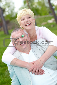 Joyful couple