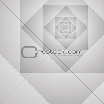 Abstract geometric prototype vector gray background