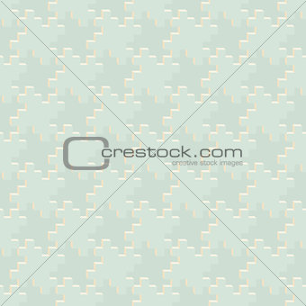 Abstract geometric pattern of pale tones - seamless texture