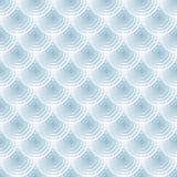Abstract vector blue seamless transparent circles texture