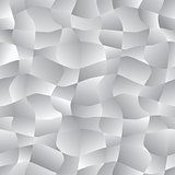 Vector abstract background - seamless pattern with curves scraps