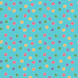 Vector funny abstract seamless cubes pattern