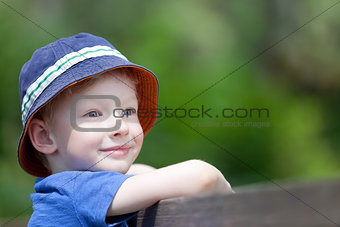 boy outdoors