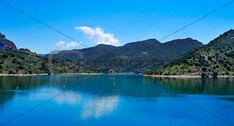 Siurana Reservoir in Tarragona Province, Spain