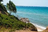 Sea coast view