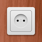 white socket