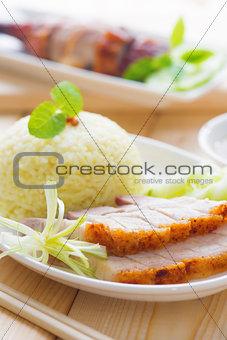 Siu Yuk or Roasted pork Chinese style