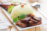Charsiu Pork Rice
