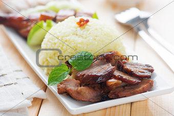 Charsiu Pork Rice