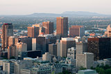 Evening Downtown Montreal