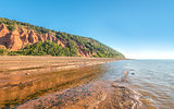 Rocks of the Blomidon cliffs