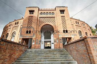 Arena de toros entrance