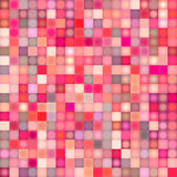 mosaic backdrop in multiple pink