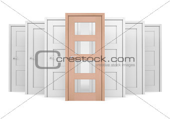 Group of doors
