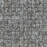 mosaic tile speckled gray wall floor