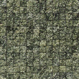 mosaic tile speckled green wall floor