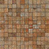 grunge tile mosaic wall floor orange gray