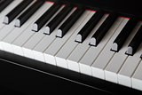 close up photo of piano keys