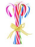 Bundle Of Colorful Candy Canes