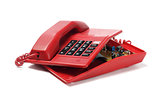 Red Telephone And Components