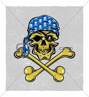 Skallywag Pirate Skull.