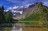 Mount Edith and Cavell Lake