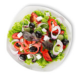 Vegetarian diet salad