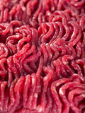 Ground beef background