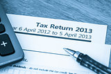 UK tax return 2013