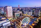 Nagoya Japan Skyline