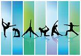 collection of gymnastics