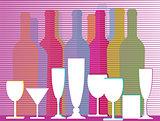 liquors, wine and sparkling wine
