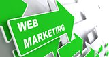 Web Marketing. Internet Concept.