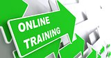 Online Training. Education Concept.